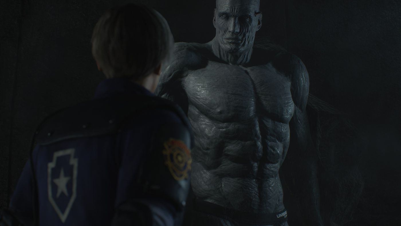 The Resident Evil 2 remake revives the sexy side of its star, Leon S