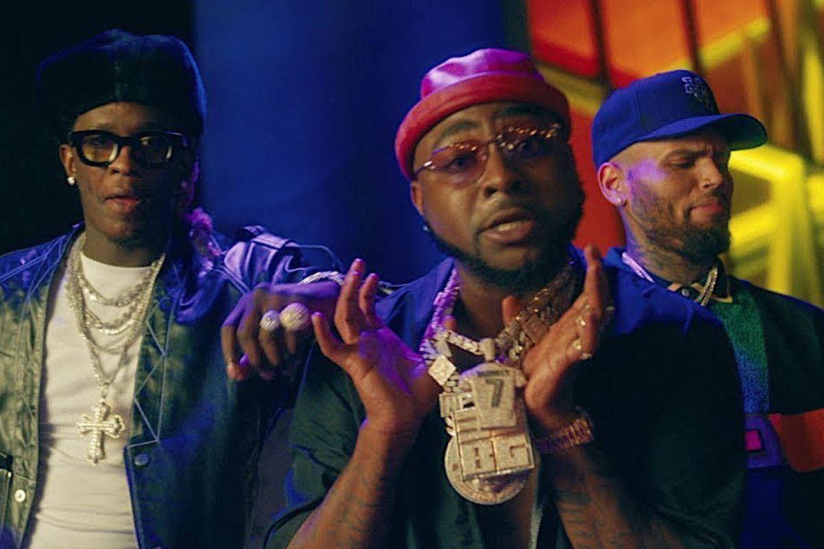 Young Thug, Davido, and Chris Brown