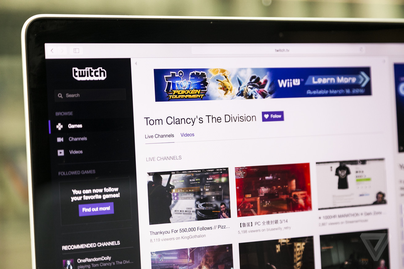 twitch and blizzard sign a deal to bring big e sports events to the streaming service