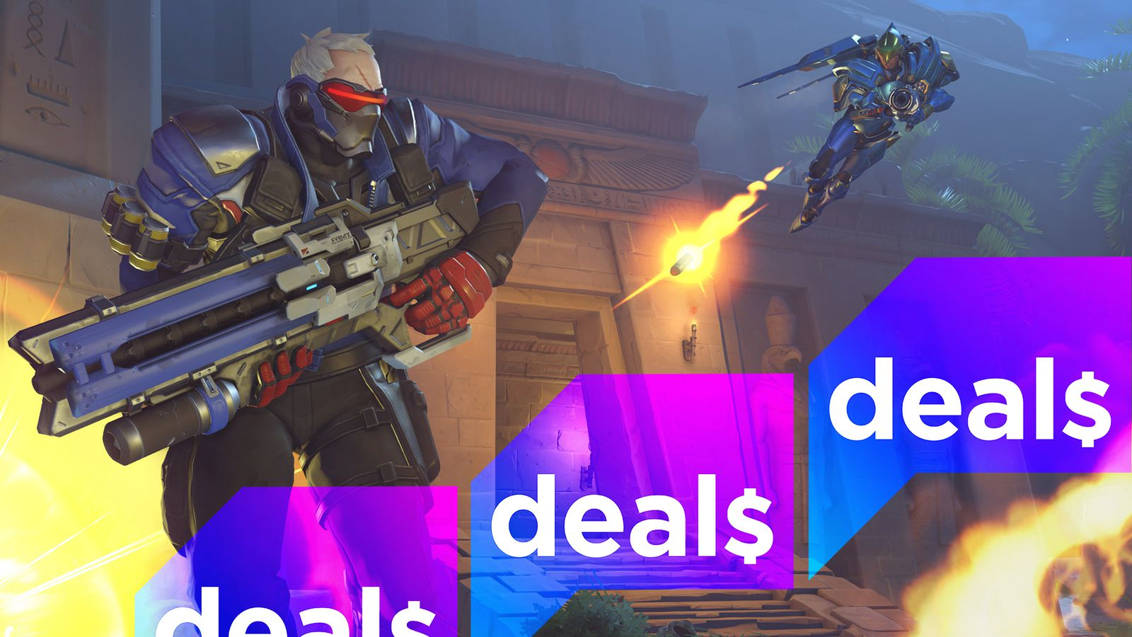 The best gaming deals of Memorial Day 2017 include discounts on Overwatch