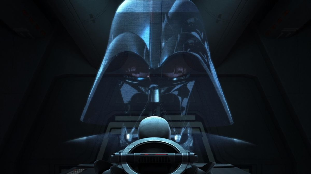 Darth Vader explains to The Grand Inquisitor that he wants him to hunt Jedi in Star Wars: Rebels