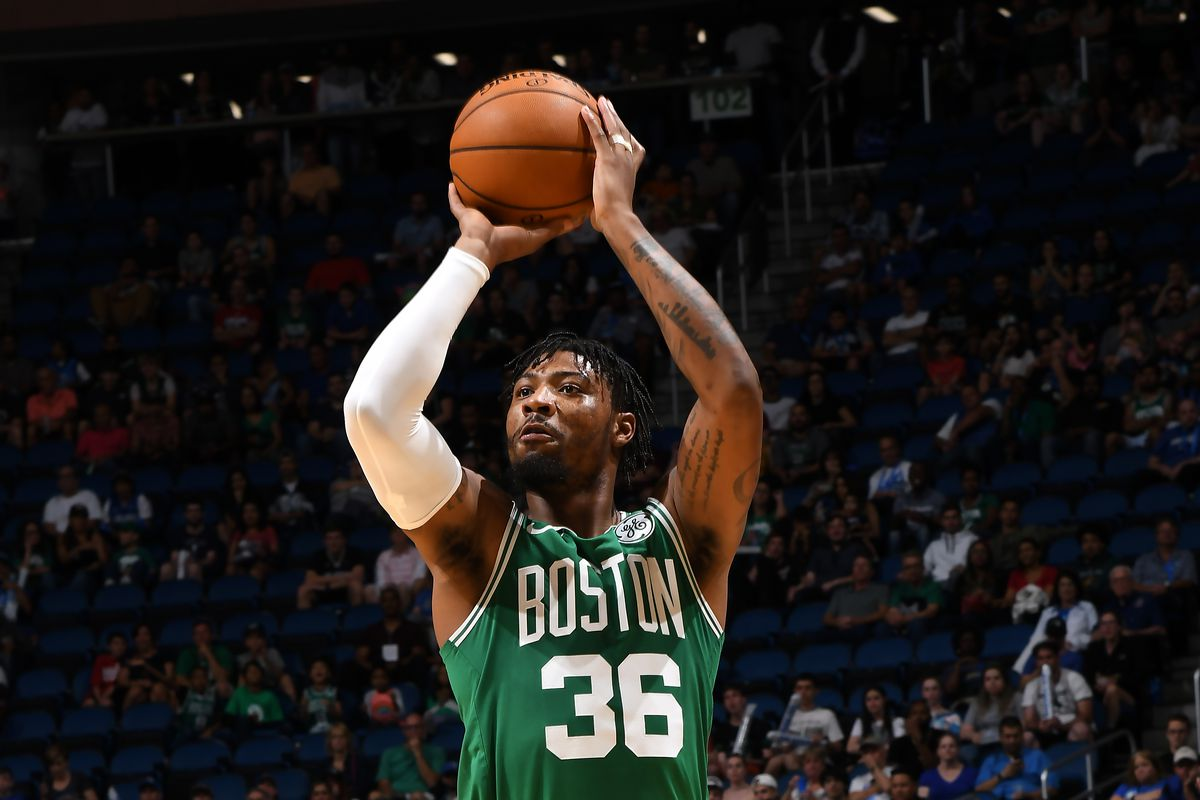 Marcus Smart keeps working on improved 3-point shot