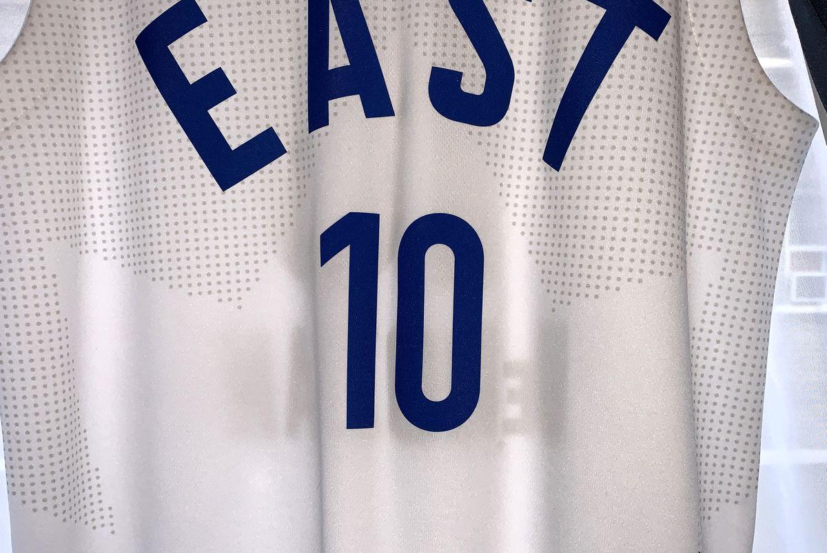 Sports Jersey Week: Toronto Raptors 2016 NBA All-Star Game jersey, maple leaf