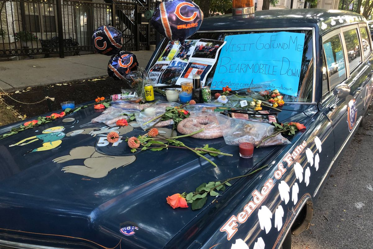 Even the Bearmobile is down and out, but fans hope beer and sausage offerings can help save its season