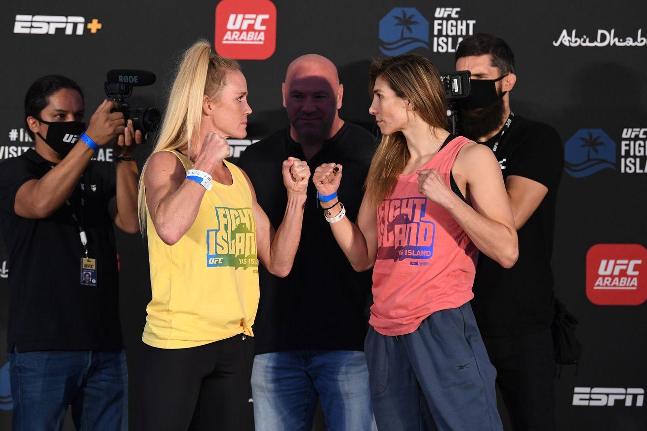 UFC Fight Night Holm v Aldana: Weigh-Ins