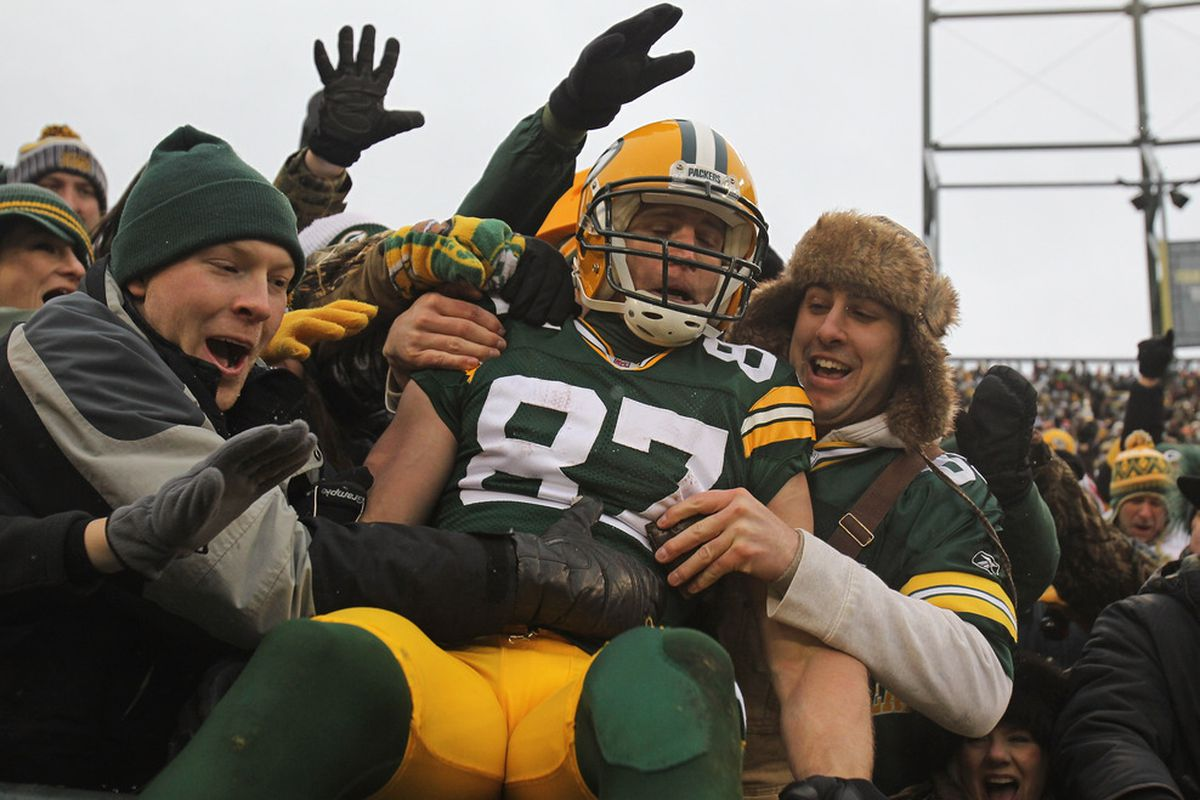 Who will be the 2012 version of Jordy Nelson?  (Photo by Jonathan Daniel/Getty Images)