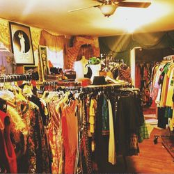 Later in the afternoon we finally, <i>finally</i> made a pilgrimage to my favorite vintage store in Texas—maybe my favorite vintage store, ever—<b>Flashback</b>, on South 1st Street. Marsha, the owner, had already closed but was kind enough to let the thr