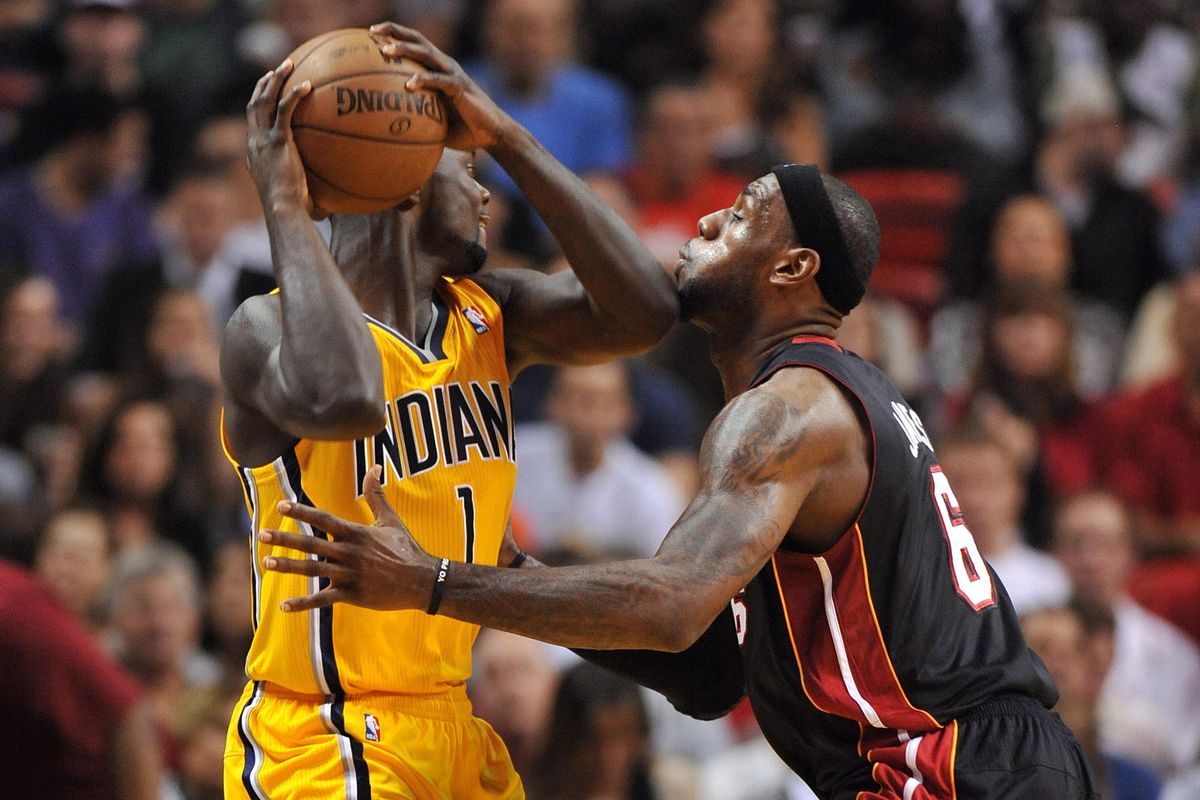 LeBron takes one on the chin during the regular season