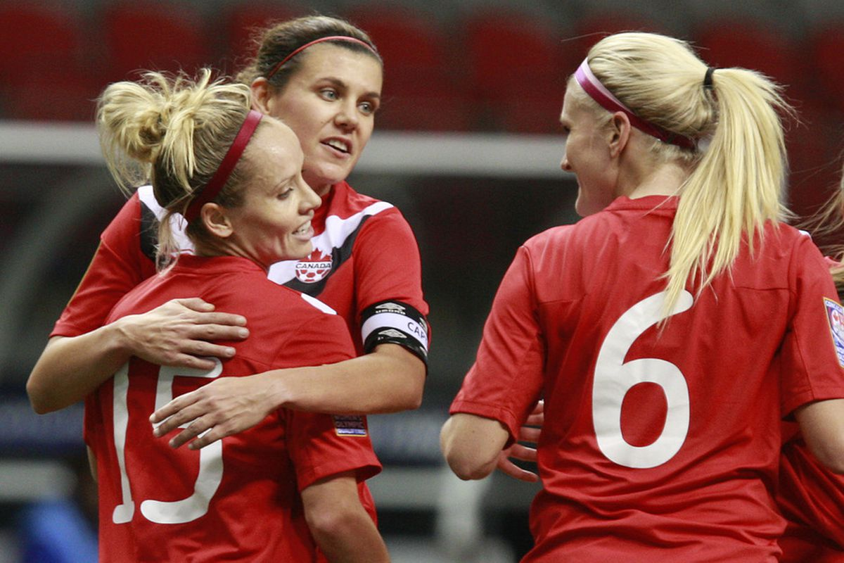 Midfielder Kaylyn Kyle (No. 6) will join a cohesive Canadian team ahead of a Nov. 24 friendly