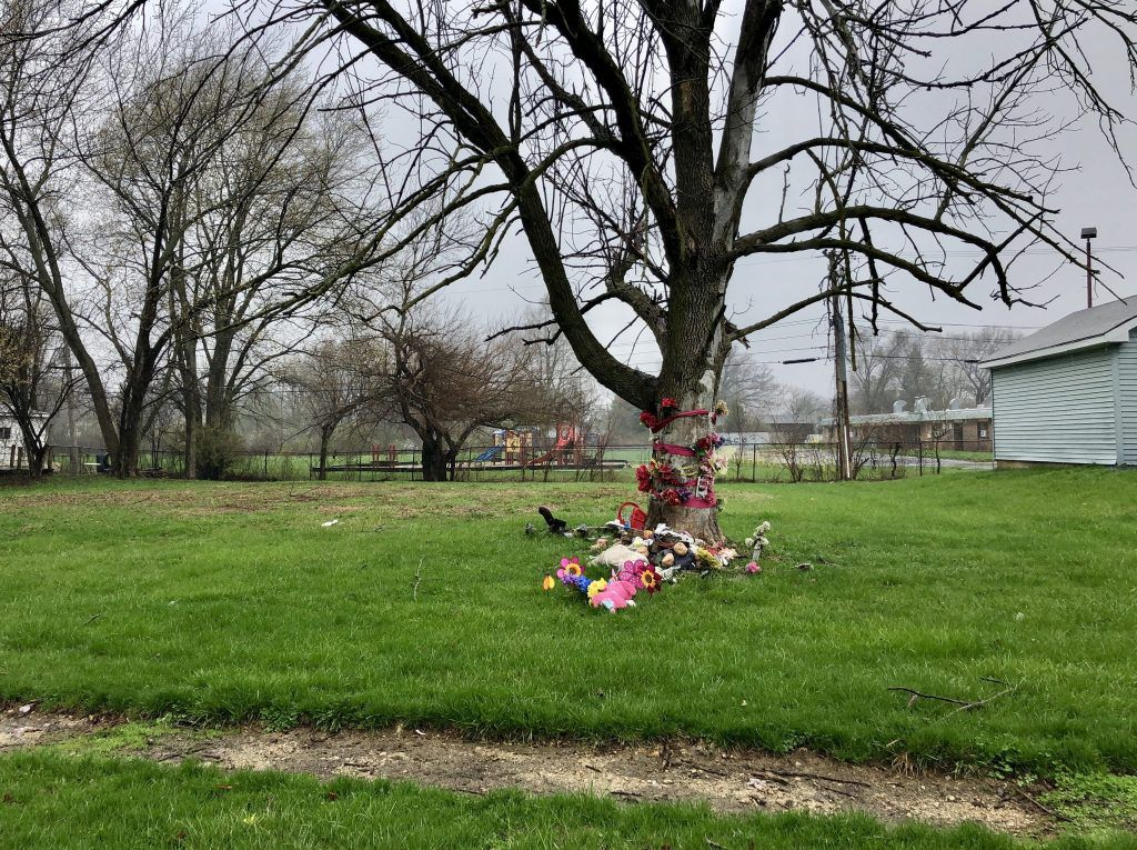 The site of the home where Semaj Crosby was found dead two years ago. | Sam Charles/Sun-Times