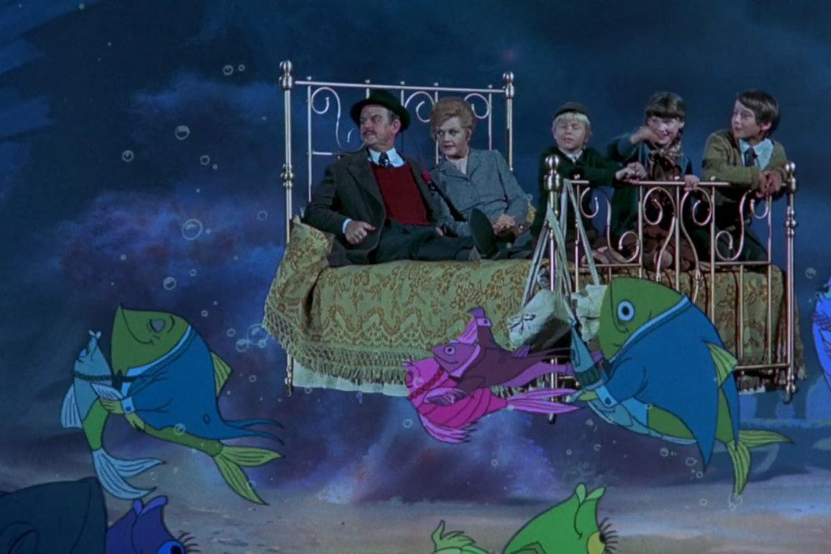 Bedknobs And Broomsticks Isn T Just A Mary Poppins Knock Off It S