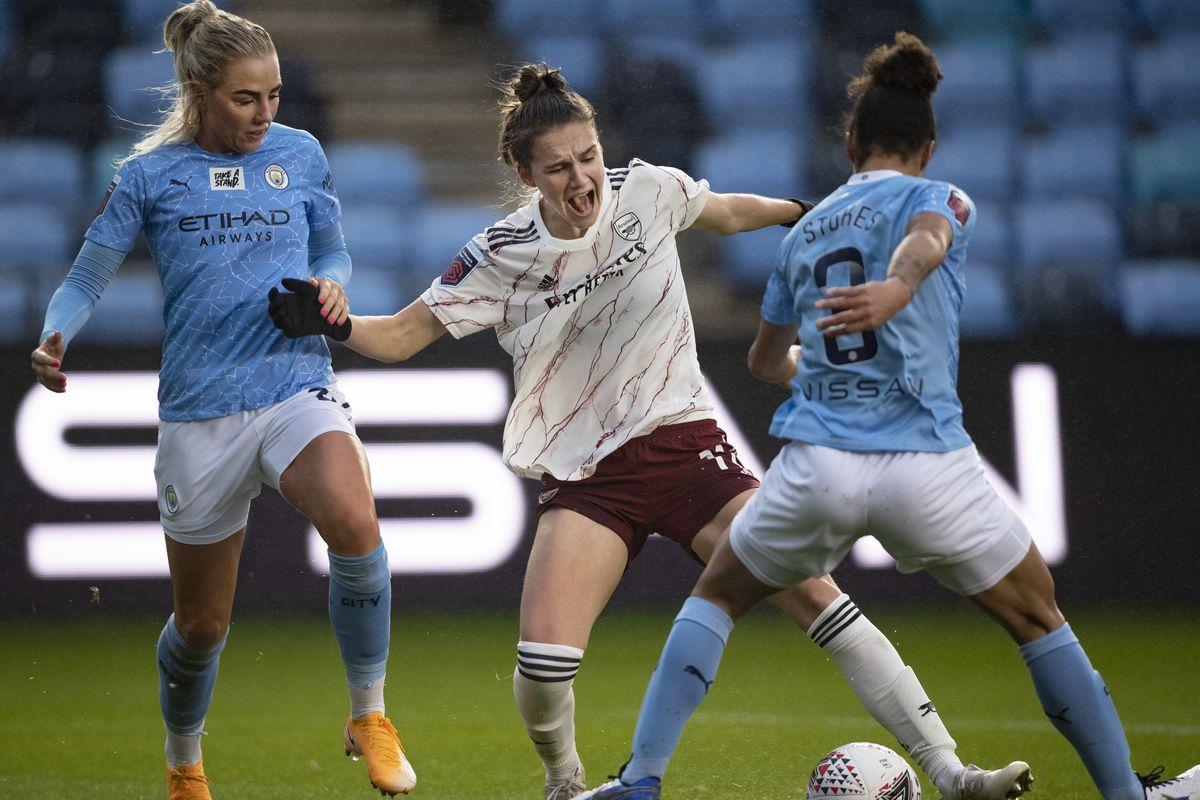 Manchester City Women v Arsenal Women - Barclays FA Women's Super League