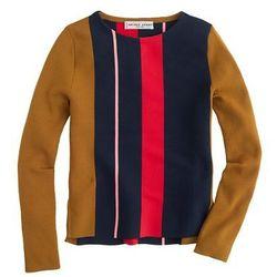 "Apiece Apart striped sweater, <a href=""https://www.jcrew.com/womens_category/sweaters/Pullover/PRDOVR~B2550/B2550.jsp"">$315</a> at J. Crew"