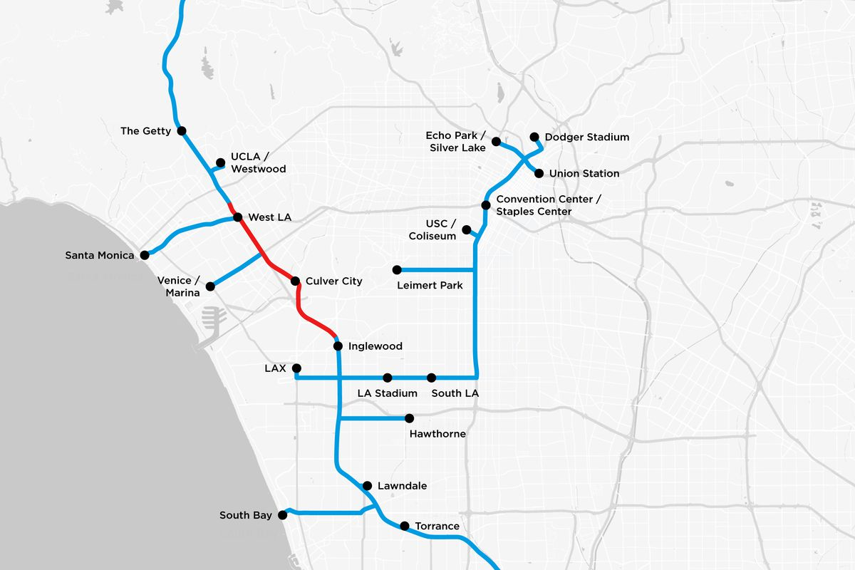 Elon musks tunnels below la detailed in new plans curbed la courtesy the boring company publicscrutiny Images