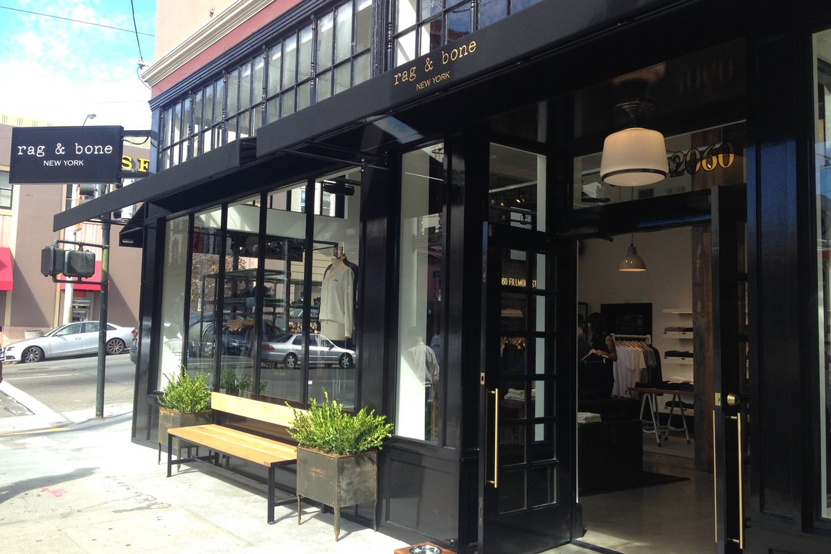 The doors are open at San Francisco's first Rag & Bone.