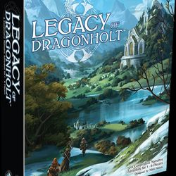 A look at the box for Legacy of Dragonholt. It comes with a bunch of stuff so the box is deep.