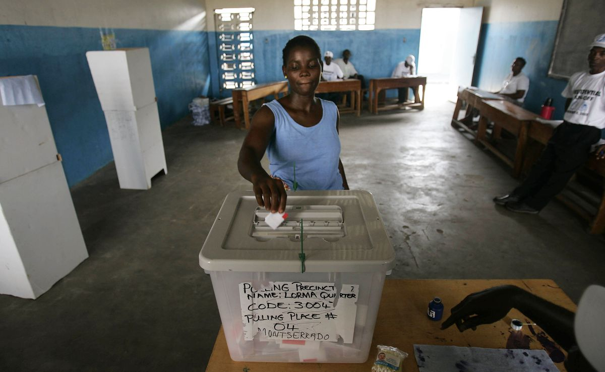 Liberians Vote In Presidential Run Off Elections