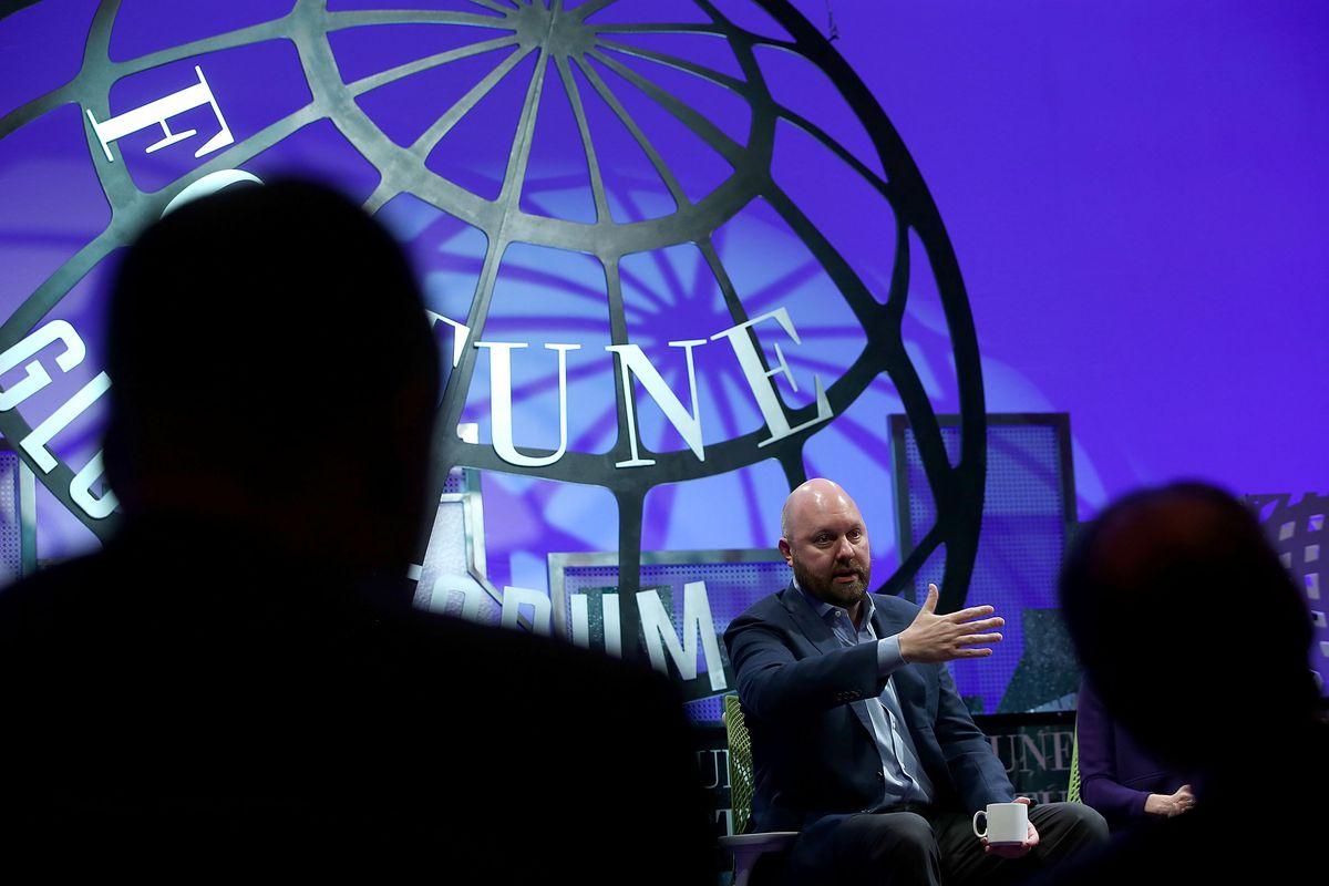 Marc Andreessen onstage