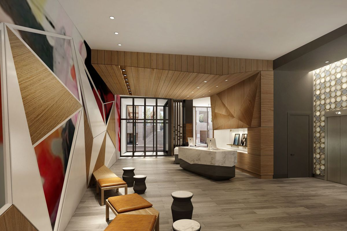 Artsy Design Of Canopy Midtown Hotel Unveiled For Atlanta S West