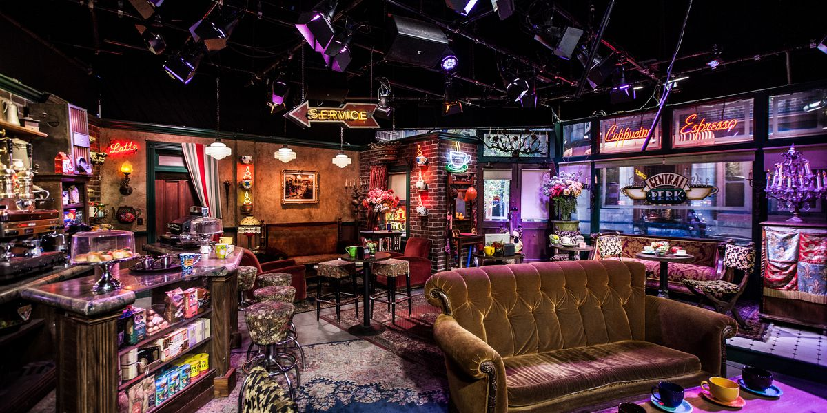 A Replica of Central Perk from 'Friends' Lands in Las Vegas in October