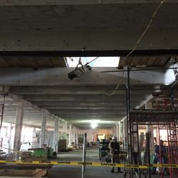 Wide View of Office Area - HSS Center