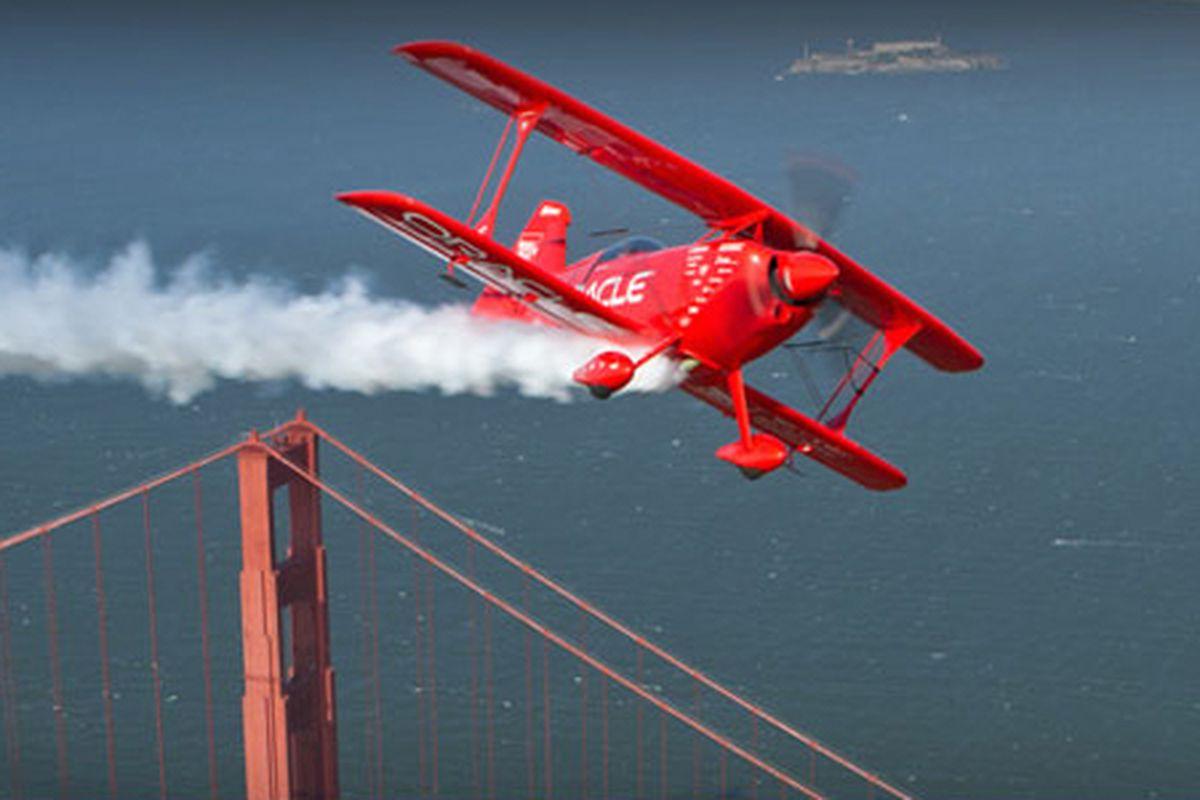 Oracle plane smoking