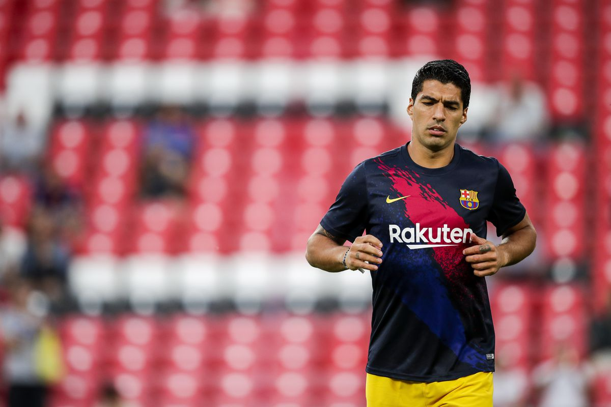 Luis Suarez returns to Barcelona training ahead of Valencia clash