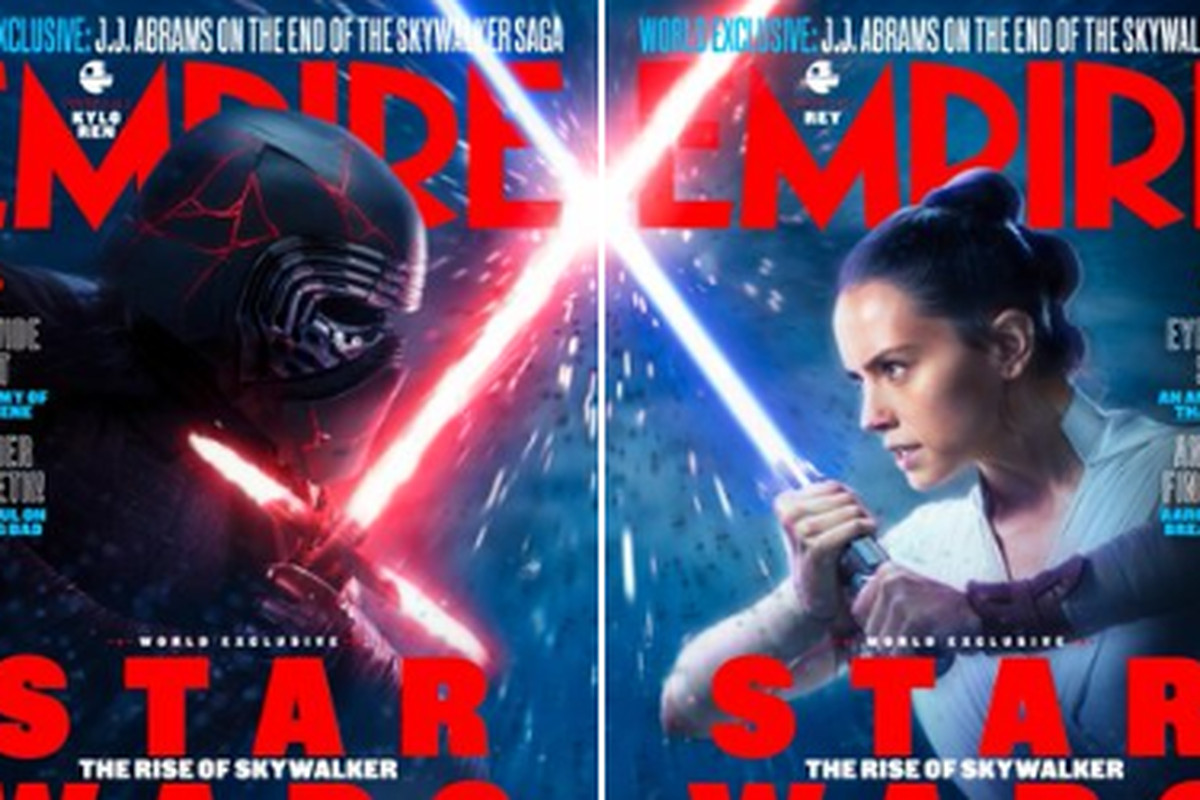 Star Wars The Rise Of Skywalker Empire Magazine Reveals New Magazine Covers Deseret News
