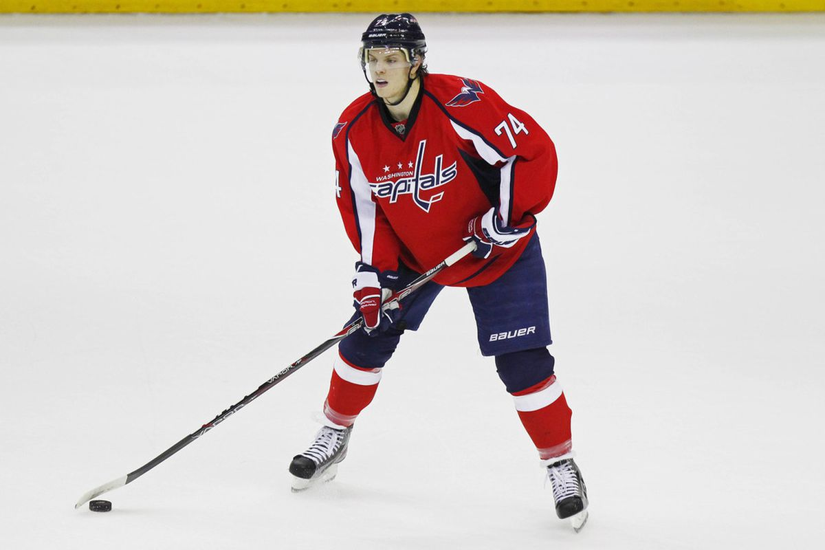 eb78e144a67 2012 NHL Free Agency  Capitals Defenseman John Carlson Not Concerned About  Lack Of New Contract