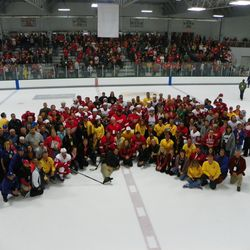 The players and some of the volunteers that make training camp happen