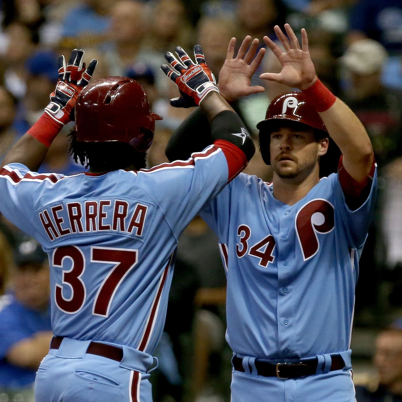 hot sale online edd3d 95904 Phillies to wear powder blue jerseys in 2018 - The Good Phight