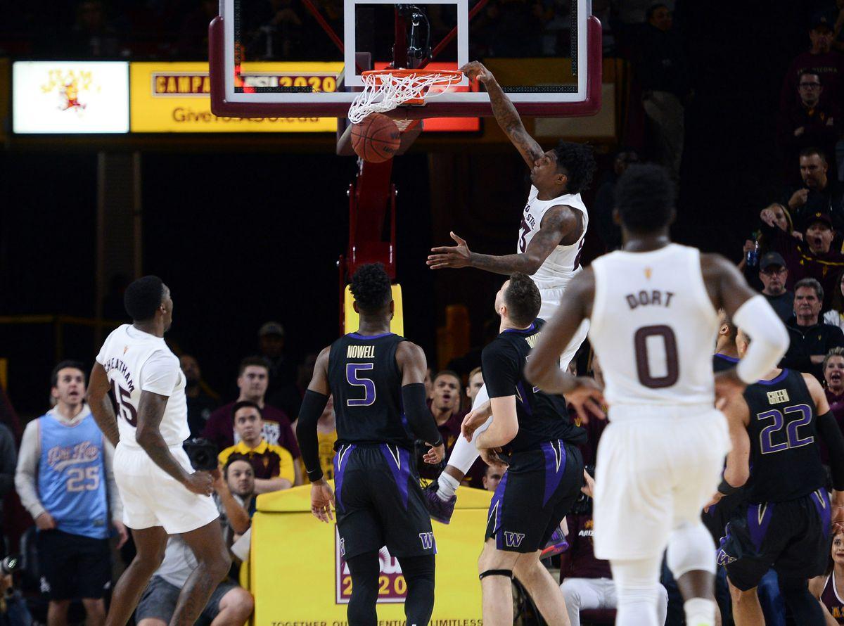 NCAA Basketball: Washington at Arizona State