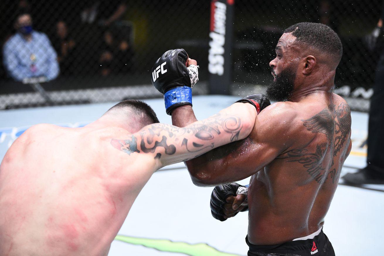 UFC Fight Night: Covington v Woodley