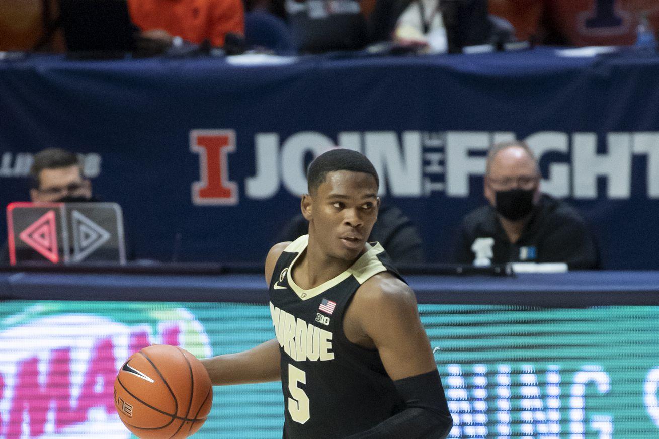 NCAA Basketball: Purdue at Illinois