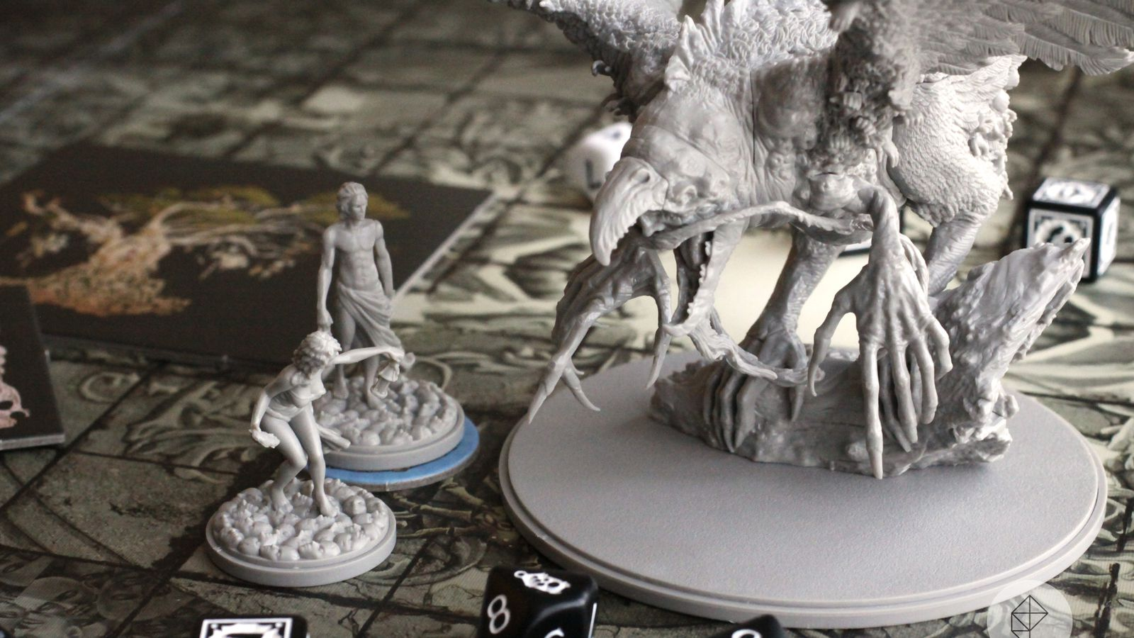 Kingdom Death: Monster is the Everest of board games - Polygonclockmenumore-arrownoyespoly-lt-wire-logo image