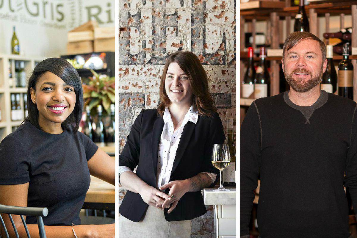 From left: Sarah Pierre [Jonathan Phillips photo], Melissa Davis, Eric Brown [Brian Gassel photos]