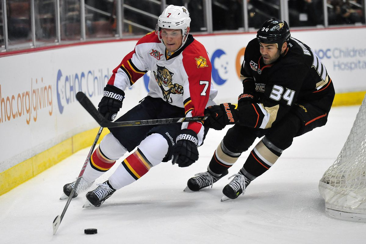 Dmitry Kulikov is one of the reasons Florida may very well have a much improved defense this year