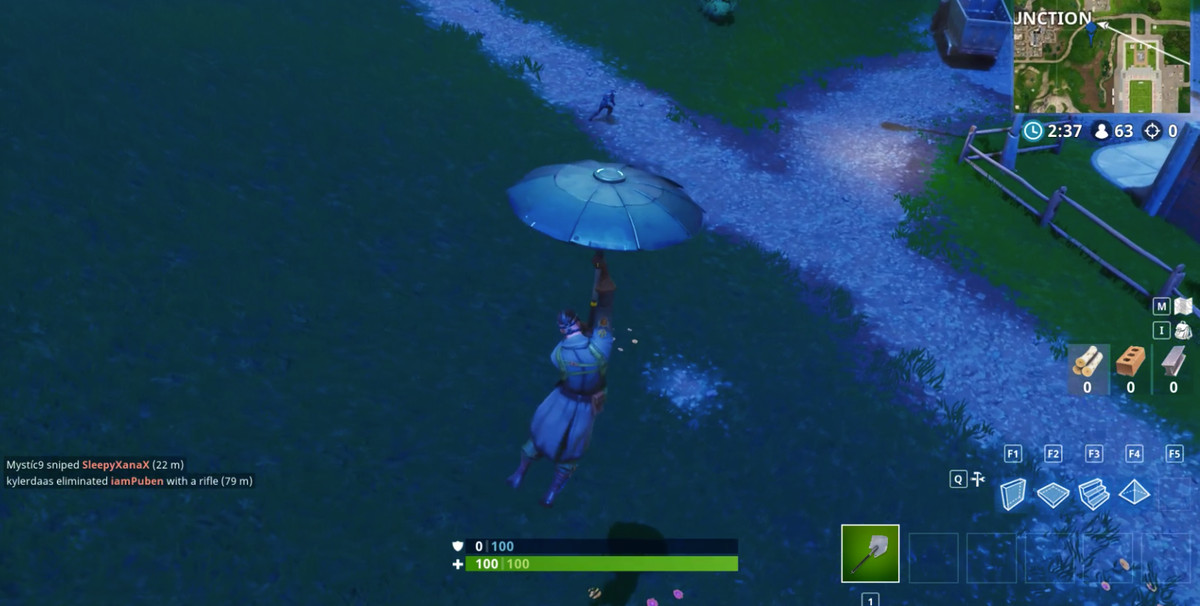 Fortnite Search between movie titles location screenshot