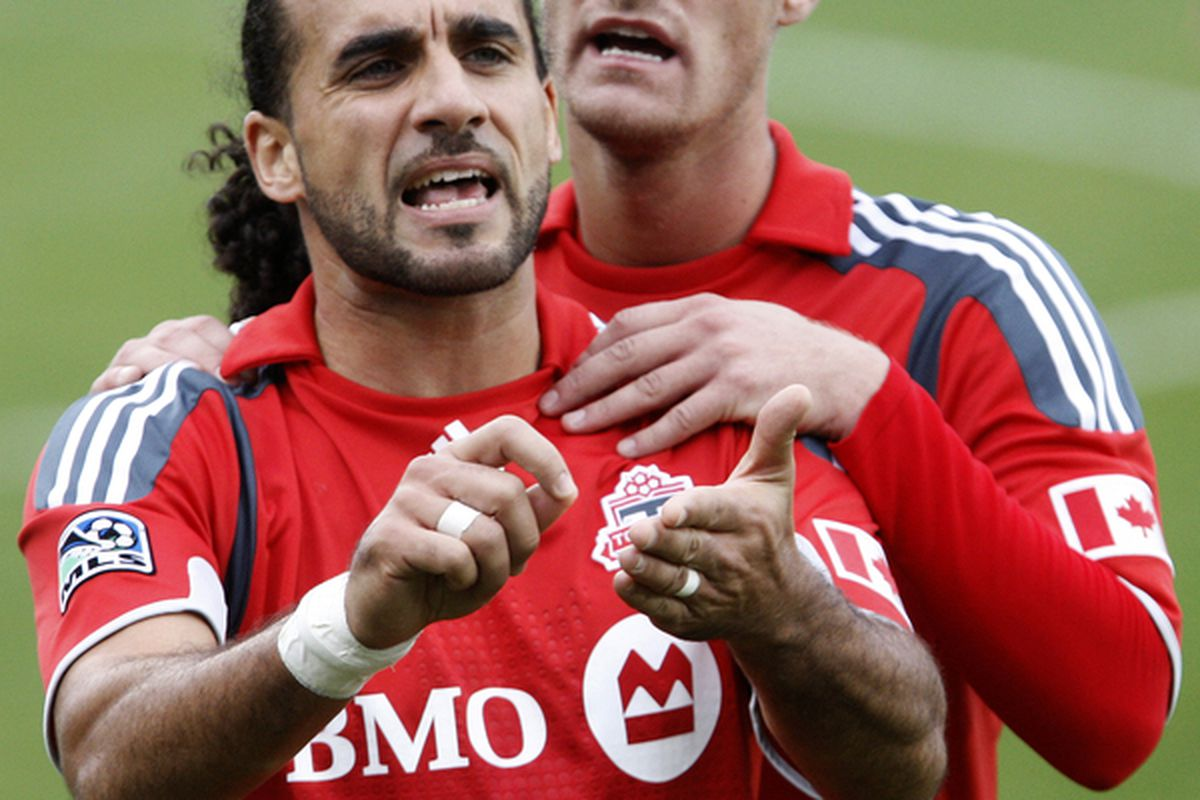 What's that De Ro?  You want TFC to start writing bigger cheques?  OK, here's one for Frings, and one for Koevermans. Happy now?