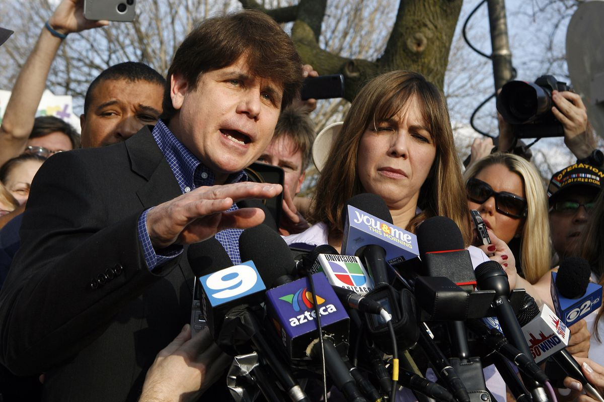 Rod Blagojevich Makes A Statement Before Beginning 14-Year Prison Term