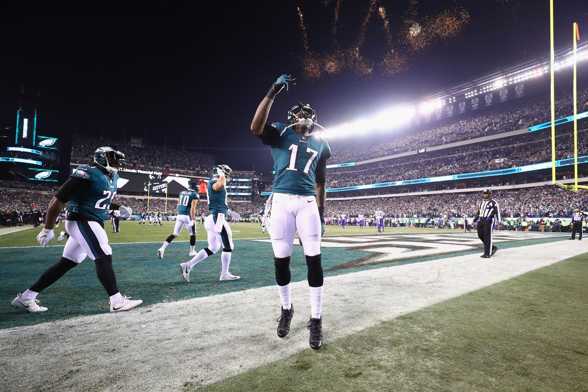 Alshon Jeffery on Super Bowl LII guarantee: 'I told y'all'