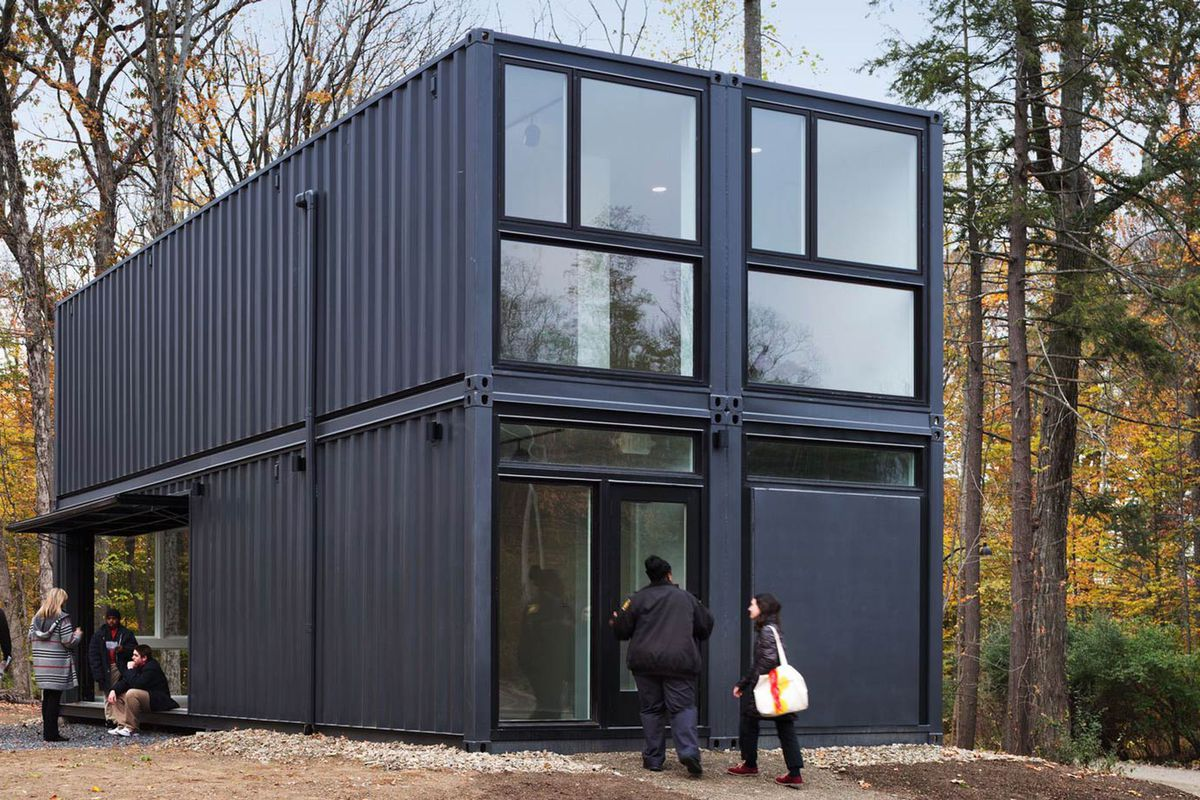 Shipping Containers Create Modern Media Lab At Bard