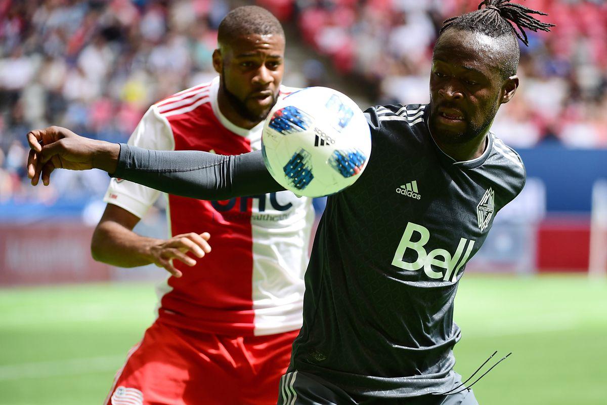 MLS: New England Revolution at Vancouver Whitecaps