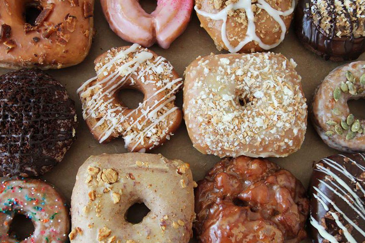 Doughnuts of various styles at GBD