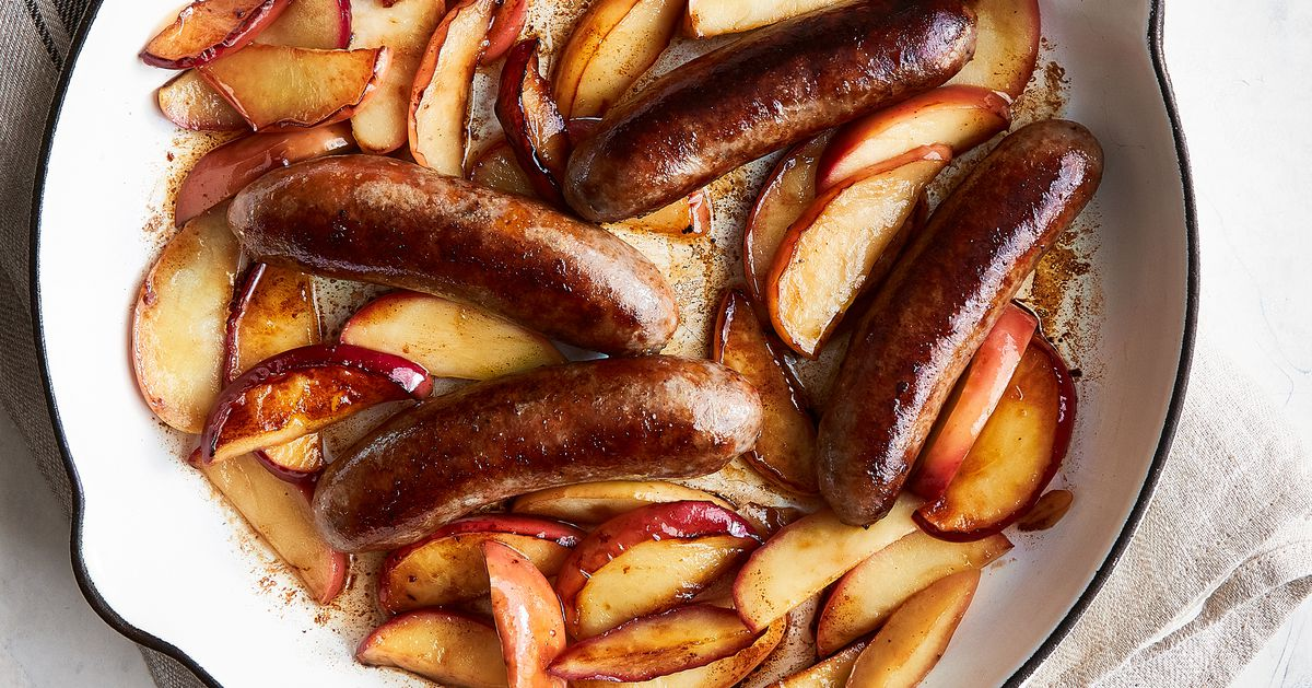 Feb. 17 Menu planner: Try sausage and apples for a cold winter's delight
