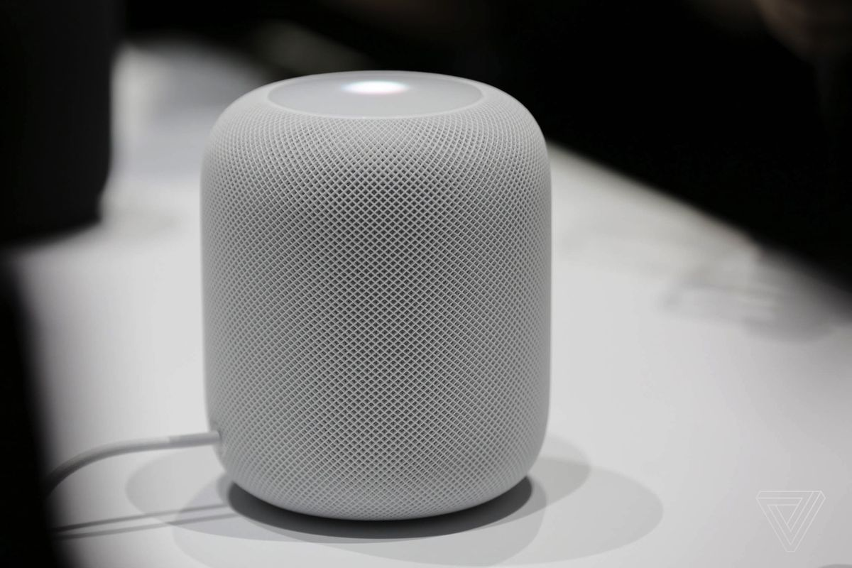 apple s 349 homepod speaker is now available to preorder. Black Bedroom Furniture Sets. Home Design Ideas