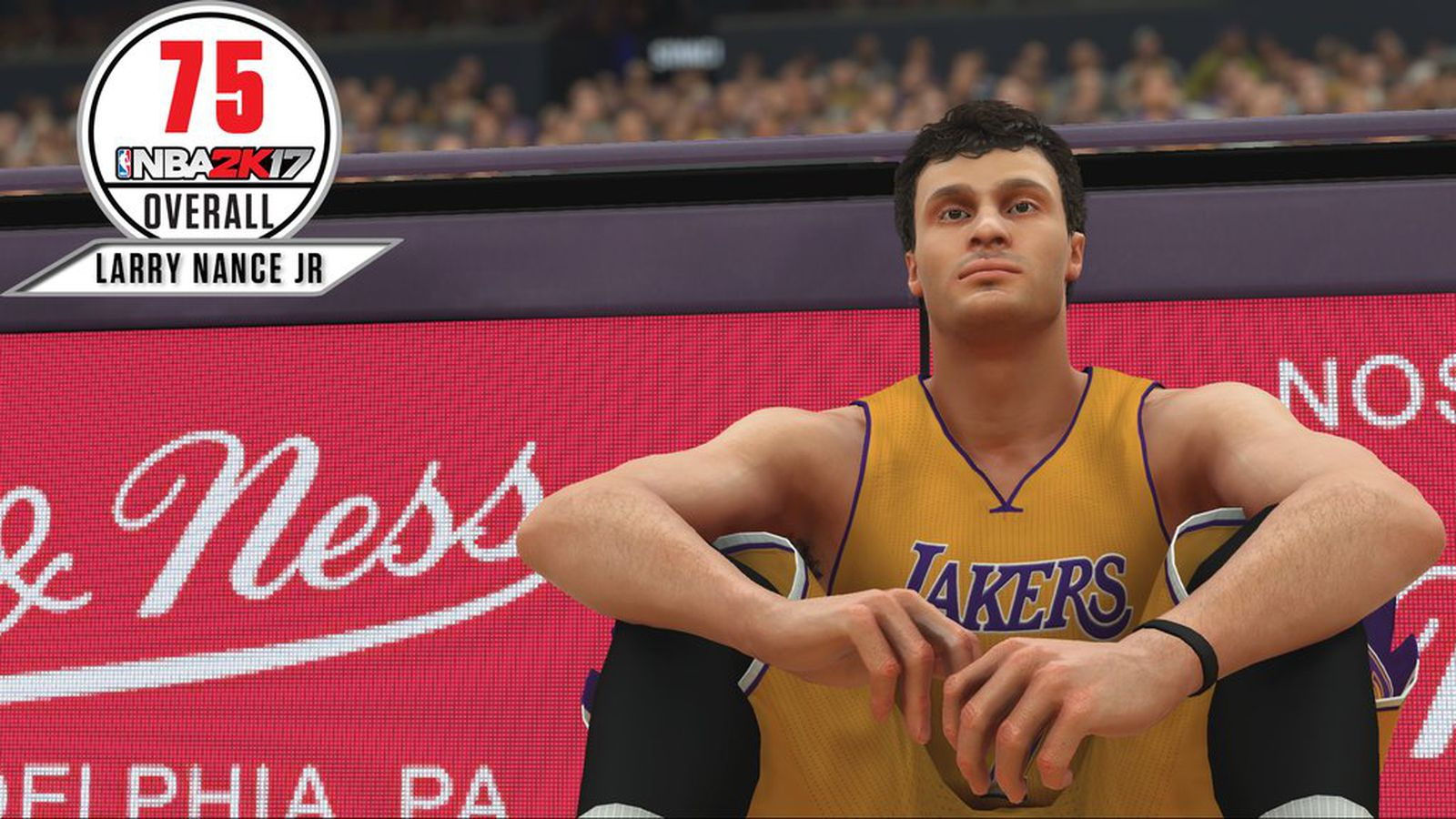 Lakers News Larry Nance Jr reveals his NBA 2K rating Silver