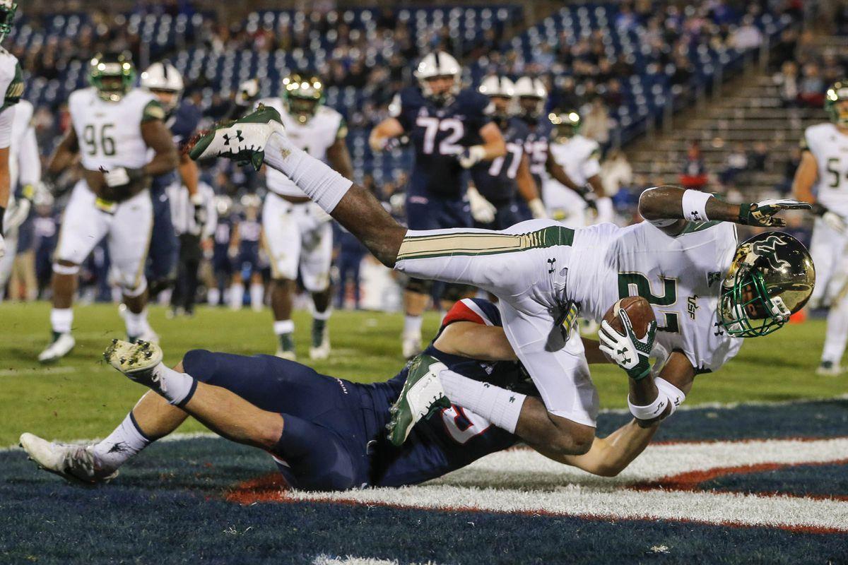NCAA Football: South Florida at Connecticut