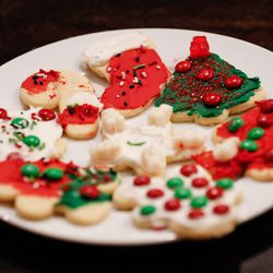 A plate of cookies are pictured during a family night at the Kirby home in Lehi on Thursday, Dec. 17, 2020.