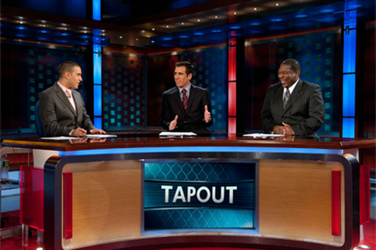 """Jon Anik (left) will take over play-by-play duties for FX broadcasts and """"The Ultimate Fighter""""."""
